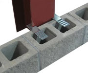 Notched Column Anchors Corrugated
