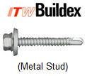 Buildex Metal Stud Fastener