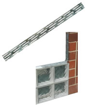 Glass Block Panel Anchor